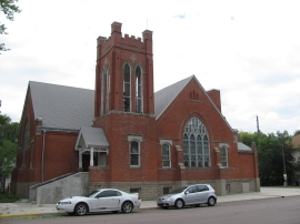 Rankin Presbyterian Church, Before.